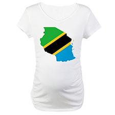 Tanzania Flag and Map Shirt