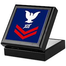 Coast Guard PA2<BR> Tiled Insignia Box