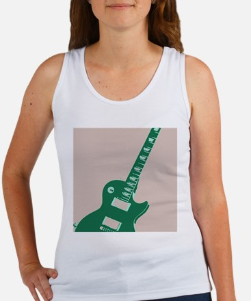 Electric Guitar Pop Art Women's Tank Top