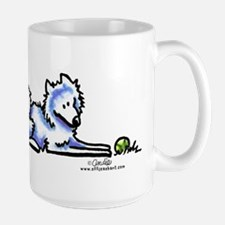 Samoyed Time Out Large Mug