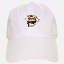 Bearded Clam (round): Baseball Baseball Cap