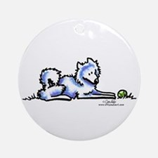 Samoyed Time Out Ornament (Round)