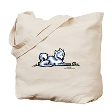 Samoyed Time Out Tote Bag
