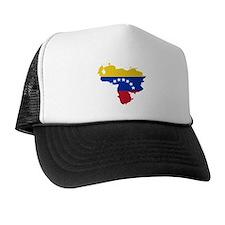 Venezuela Flag and Map Trucker Hat