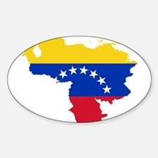 Venezuela Flag and Map Decal
