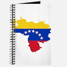 Venezuela Flag and Map Journal