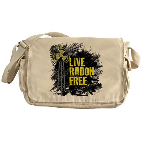 Live Radon Free - Lung Cancer Awareness Messenger
