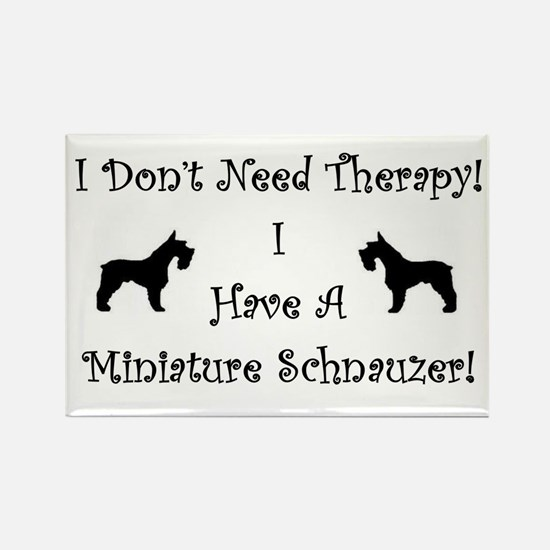SchnauzerTherapy Magnets