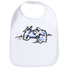 Eskie Play Dead Bib