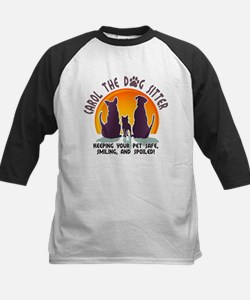 Carol The Dog Sitter with Tag Line Tee