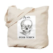 Alas, poor Yorick Tote Bag
