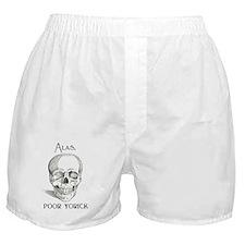 Alas, poor Yorick Boxer Shorts