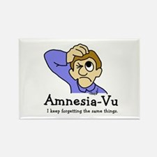 Amnesia Vu Rectangle Magnet