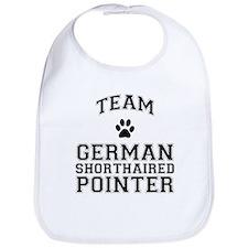 Team German Shorthaired Pointer Bib