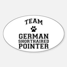 Team German Shorthaired Pointer Decal