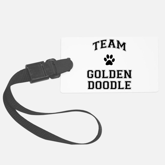 Team Goldendoodle Luggage Tag