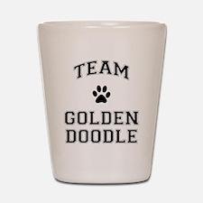 Team Goldendoodle Shot Glass