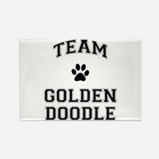 Team Goldendoodle Rectangle Magnet
