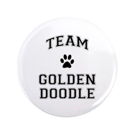 "Team Goldendoodle 3.5"" Button"