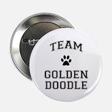 "Team Goldendoodle 2.25"" Button"