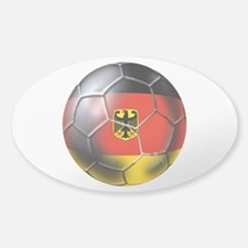 German Soccer Ball Decal