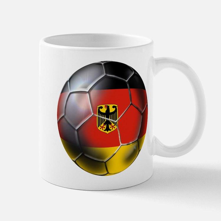 German Soccer Ball Mug