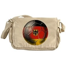 German Soccer Ball Messenger Bag