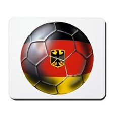 German Soccer Ball Mousepad