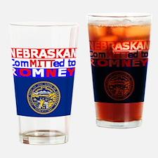 nebraskaromneyflag.png Drinking Glass