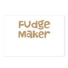 Fudge Maker Postcards (Package of 8)
