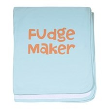 Fudge Maker baby blanket