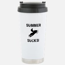 Funny Winter sucks Travel Mug