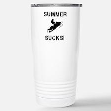 Unique Sled Travel Mug