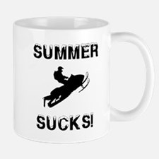 Summer Sucks Custom Mugs