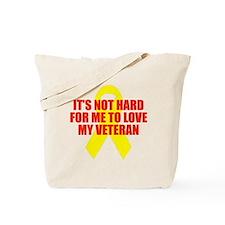 Not Hard to Love my Vet Tote Bag