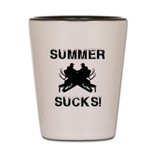 Summer Sucks Shot Glass