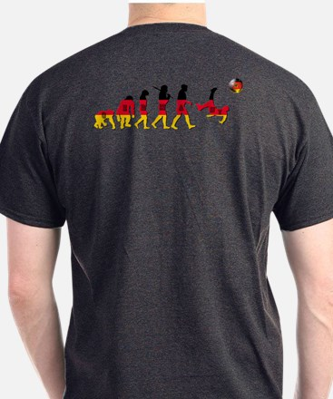 German Football Evolution T-Shirt