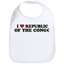 I Love Republic of the Congo Bib