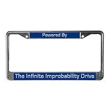 Infinite Improbability Drive License Plate Frame