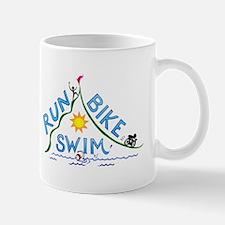 Run, Bike, Swim Mug