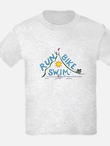Run, Bike, Swim T-Shirt