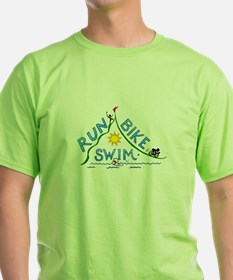 Run, Bike, Swim T-Shirt