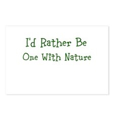 One With Nature Postcards (Package of 8)