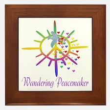 Wandering Peacemaker Framed Tile