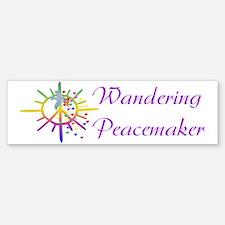 Wandering Peacemaker Bumper Bumper Bumper Sticker