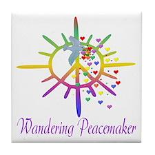Wandering Peacemaker Tile Coaster