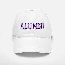 Alumni Purple Baseball Baseball Cap