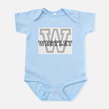 Westley (Big Letter) Infant Creeper