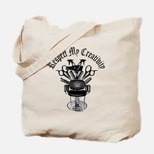 Hair Stylist Respect My Creativity Tote Bag