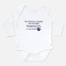 Funny World%27s best mom Long Sleeve Infant Bodysuit